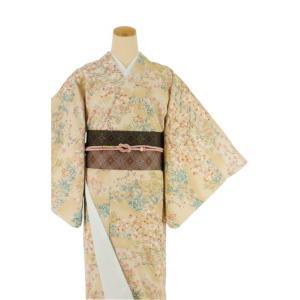 着物 4点セット 日本製 簡単 着付け不要 着崩れしない 小紋 袷 仕立て上がり Sサイズ|shitateyajingoro