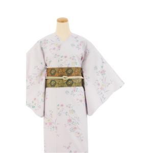 着物 3点セット 日本製 簡単 着付け不要 着崩れしない 衿なし 小紋 袷 仕立て上がり Sサイズ|shitateyajingoro