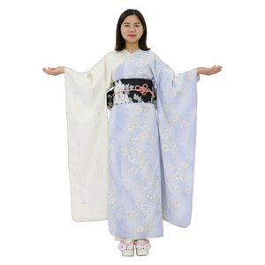 夏振袖4点セット Mサイズ(着物・帯・帯締め・ショール) [01]|shitateyajingoro