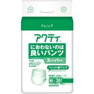 アクティ におわないのは良いパンツ スーパー Mサイズ 20枚×4袋入|shiwa-awase