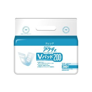 アクティ パンツ用Vパッド200 男女兼用30枚×6袋入|shiwa-awase