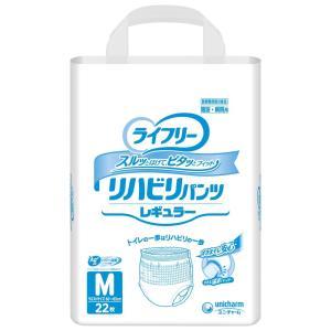 ライフリーリハビリパンツ レギュラー M22枚×4袋入|shiwa-awase