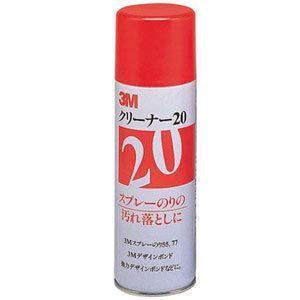 3M クリーナー20 4缶セット(1,050円税別/缶) スプレータイプ|shiza-e