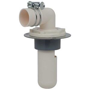 カクダイ 洗濯機用 イヤな臭気を防止する排水トラップ 床に直接取り付けられて便利 呼50VP・VU管...