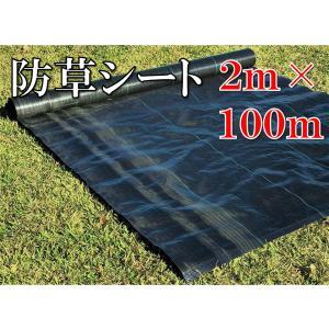 防草シート 2m×100m  雑草防止 除草シート 草よけシ...