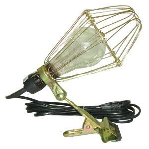 特徴:電球型蛍光灯にも対応できる大型枠タイプ 5mコード付 用途:作業灯 入数:1個 ※CL-123...