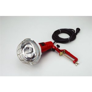 投光器用レフエースランプ(RF-1500)付き  特徴:2芯・3芯兼用型 折りたたんで収納可能なアー...