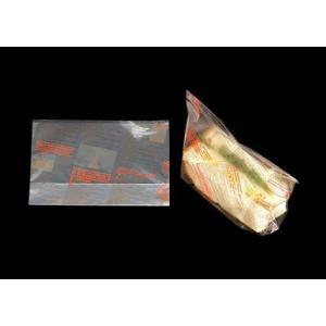 ヨーロピアン縦型サンド(2色) オレンジ+ブラウン 0.03×210×150mm 100枚(Y001020)|shizaiyasan