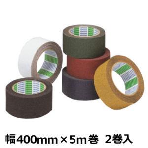 ノンスリップテープ 日東電工 粗面用 アンチスキッドテープ(AS-127) 400mm幅×5m巻 1ケース(2巻入)|shizaiyasan