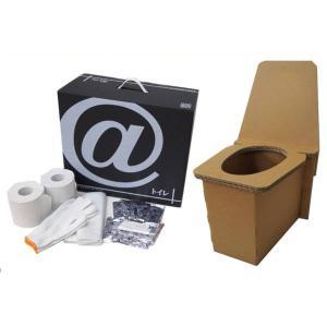段ボール製 非常用・野外用 簡易トイレ 1セット(KHS)|shizaiyasan
