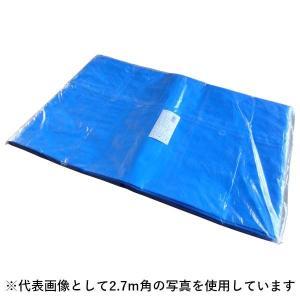 ブルーシート 輸入品#3000 2.7m×5.4m(約9畳) バラ1枚(T) shizaiyasan