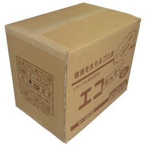《法人様宛限定》ゴミ袋(E-4530) 0.03mm×650mm×800mm(45L) 透明 1ケース(600枚入)|shizaiyasan