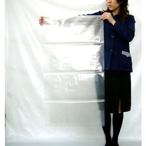 業務用ゴミ袋 0.08mm×550mm×1020mm (透明) 100枚|shizaiyasan