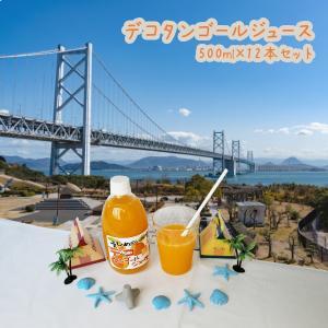デコタンゴールジュース 500ml×12本入|shizaiyasan