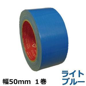 カラー布テープ スリオンテック No.3437(ライトブルー) 50mm幅×25m巻 1巻|shizaiyasan