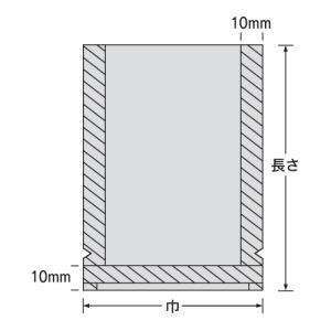 福助工業 真空袋 ナイロンポリ TLタイプ 1...の詳細画像1