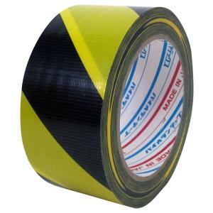 ダイヤテックス パイオランクロス 標示テープ(TT-06-YB) トラ 50mm幅×25m巻 1ケース(30巻入) (TO)|shizaiyasan