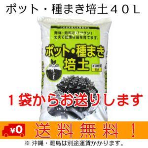自然応用科学 ポット・種まき培土 40L shizen-club