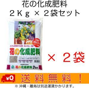 自然応用科学 花の化成肥料 2Kg×2袋セット|shizen-club