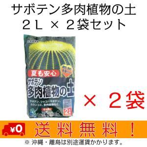 自然応用科学 サボテン多肉植物の土 2L×2袋セット shizen-club