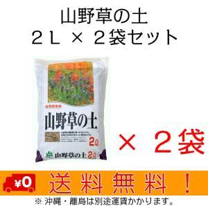 自然応用科学 山野草の土 2L×2袋セット shizen-club