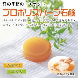 「プロポリスハーブ石鹸」 自然共生|shizen-kyosei
