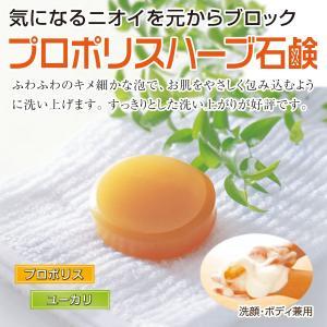 オープン記念セール1000円ぽっきり プロポリスハーブ石鹸 1個80g 初回限定 自然共生 ポイント消化|shizen-kyosei