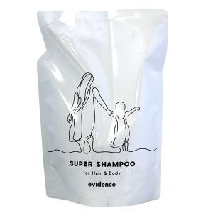 CACエヴィデンス スーパーヘアー&ボディーシャンプー レフィル(詰替え用)(400ml) CAC化粧品 選べるプレゼント付 9月新商品|shizenkan