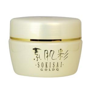 千坂式 素肌彩ゴールドQ(150g)(保湿クリーム) 食健|shizenkan
