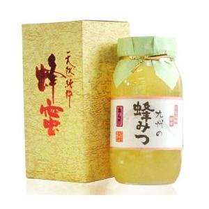 九州の蜂みつ れんげ(1kg) 川口養蜂場|shizenkan