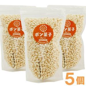 ポン菓子(プレーン)(60g) 5個セット 大徳