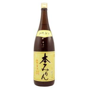 福来純 伝統製法熟成本みりん(1800ml) 白扇酒造|shizenkan