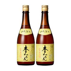 福来純 伝統製法熟成本みりん(720ml×2本入) 白扇酒造 数量限定 ギフト箱入 12月新商品|shizenkan