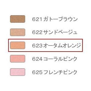エルエリートアイシャドウ・レフィル 623(オータムオレンジ) ジュポン化粧品