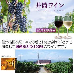 国産無添加いづつワイン4種セット(赤甘・ロゼ・白甘・白辛)(各720ml) 井筒ワイン 在庫限り|shizenkan|02