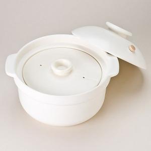NEWマスタークック 6合炊き炊飯用土鍋(2.6L)(ガス直火用)  健康綜合開発 shizenkan