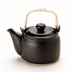 マスタークック けんこう土瓶(ガス直火用)(黒色)(1.6L) 健康綜合開発 shizenkan