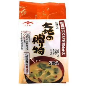 フリーズドライみそ汁 大地の贈り物(50.5g(10.1g×5食)) 松合食品|shizenkan