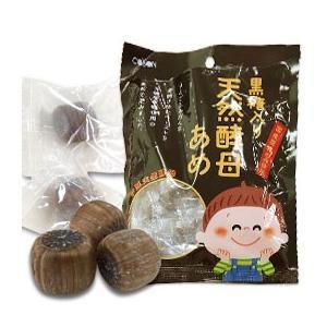黒糖入り 天然酵母あめ(80g) 第一酵母|shizenkan