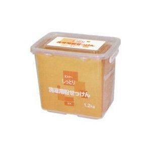 しっとりシリーズ洗濯用粉せっけん(1.2kg)(容器入) エスケー|shizenkan