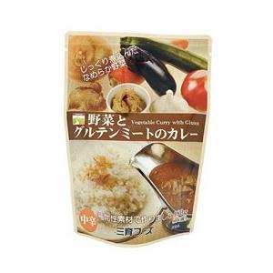 ☆野菜とグルテンミートのカレー(180g) 三育|shizenkan