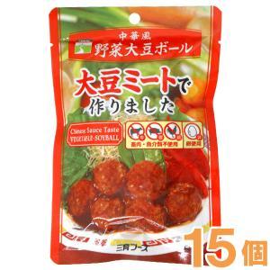 中華風野菜大豆ボール(100g) 15個セット 三育フーズ まとめ買い|shizenkan
