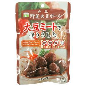 和風野菜大豆ボール(100g) 三育フーズ|shizenkan