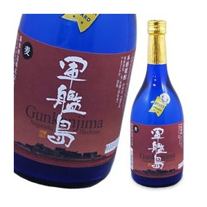 本格麦焼酎 軍艦島・麦(720ml) 霧氷酒造|shizenkan