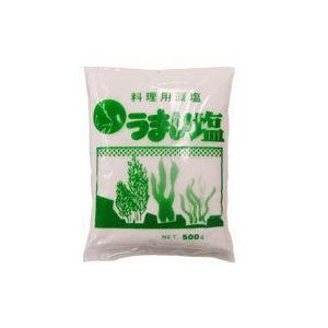 料理用藻塩うまい塩(500g) 西本友康商店|shizenkan