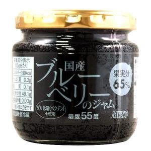 国産ブルーベリーのジャム(200g) ムソー|shizenkan
