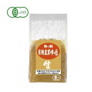 国産有機・玄米味噌(1kg) 海の精