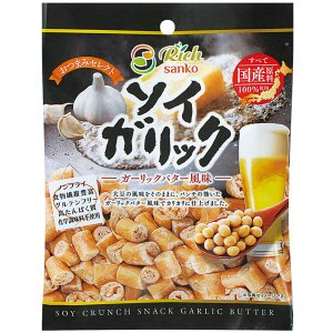 ソイガリック・ガーリックバター風味(30g) サンコー 12月新商品|shizenkan