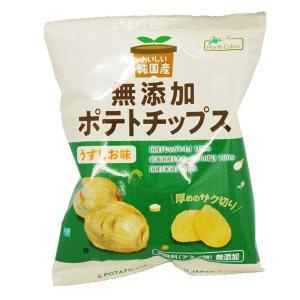 純国産ポテトチップス・うすしお(60g) ノースカラーズ|shizenkan