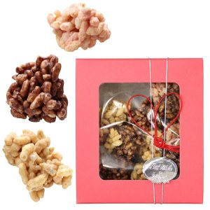 おこし屋さんのサクッとショコラ(40g) 粟新 バレンタインギフト 期間限定|shizenkan